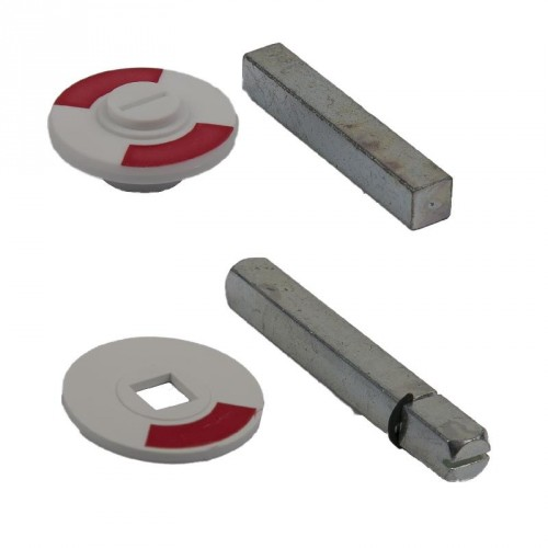 ROOD/WIT PLAATJE 5 MM STERGAT