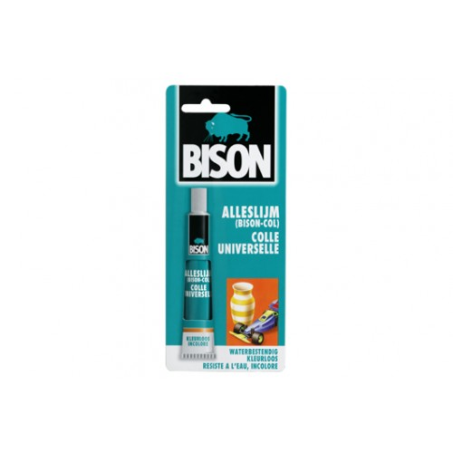 ALLESLIJM 25 ML TUBE/KRT BISON