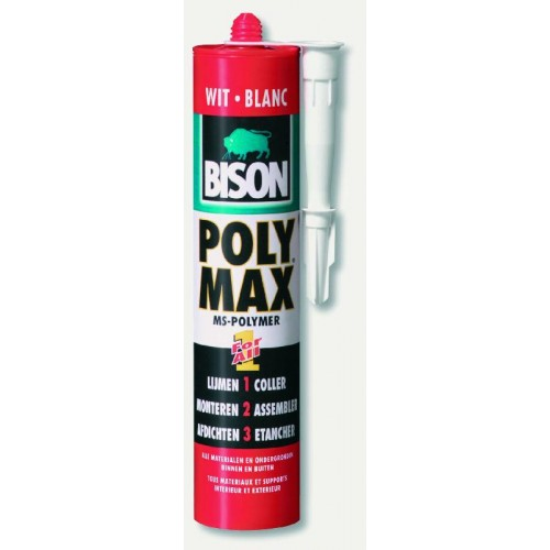 POLY MAX ORGINAL WIT 425G BISON