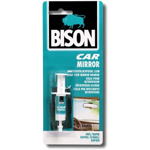 CAR MIRROR LIJM 2ML BISON