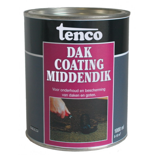 TENCO DAKCOATING MIDDENDIK 1 LITER