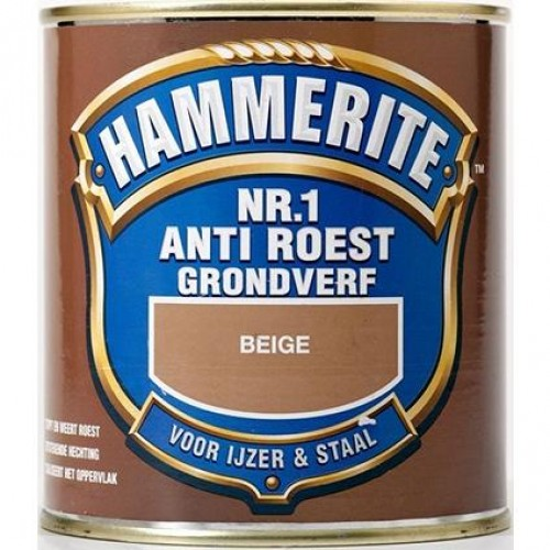 HAMMERITE ANTI-ROEST NR.1 BEIGE 500ML