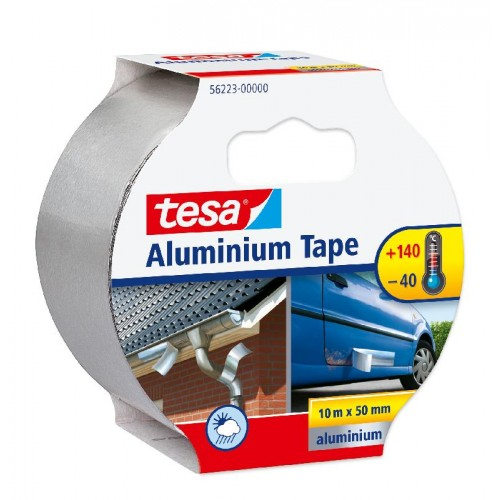ALUMINIUM TAPE, 10M:50MM 10 -50