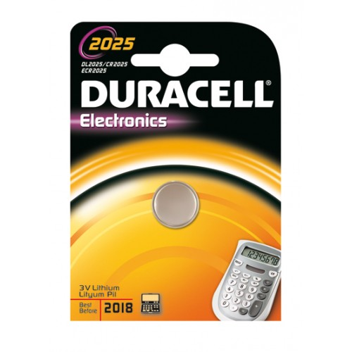 DURACELL KNOOPCEL LITH DL2025