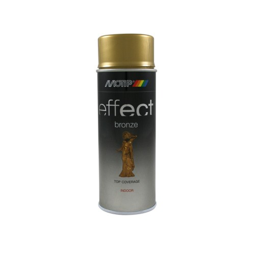 BRONZE EFFECT COLOURSPRAY GOLD 400 ML MOTIP