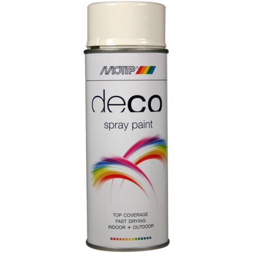 COLOURSPRAY HOOGGLANS RAL 9010 HELDER WIT 400 ML