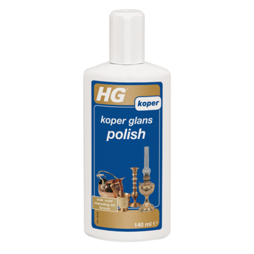 HG KOPER GLANS POLISH 140 ML