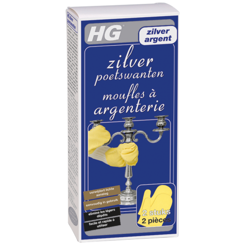 HG ZILVER POETSWANT 2 ST