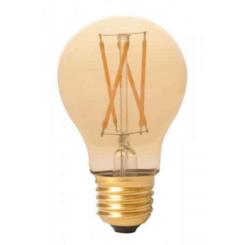CALEX LED FULL GLASS FILAMENT GLS-LAMP 240V 6,5W 600LM E27 A60, GOLD 2