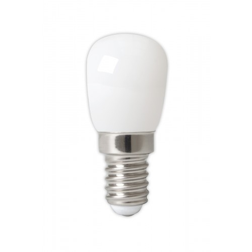CALEX LED FULL GLASS FILAMENT PILOT LAMP 240V 1W 90LM E14 T26X58, SOFT
