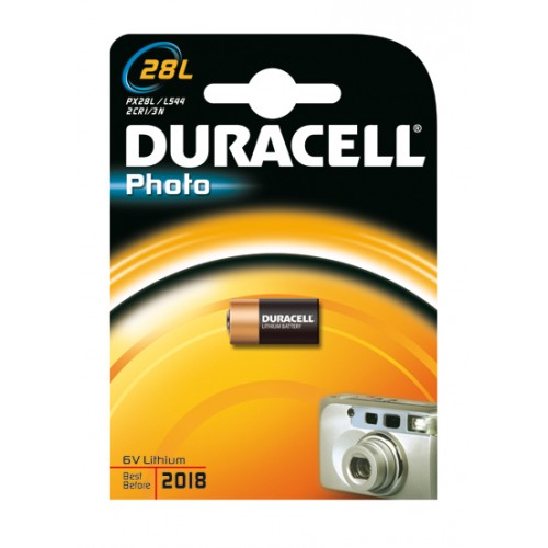 DURACELL PHOTO 28L 6 VOLT LITHIUM BP1
