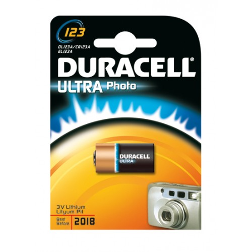 DURACELL ULTRA M3 PHOTO 123A BP1